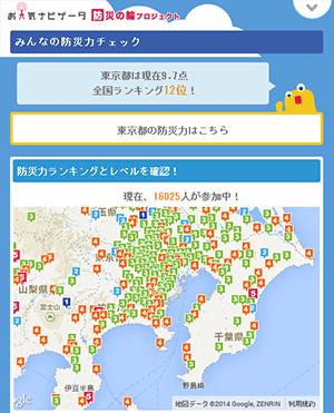 防災レベルマップ