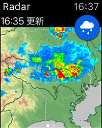 雨降りアラート Radar