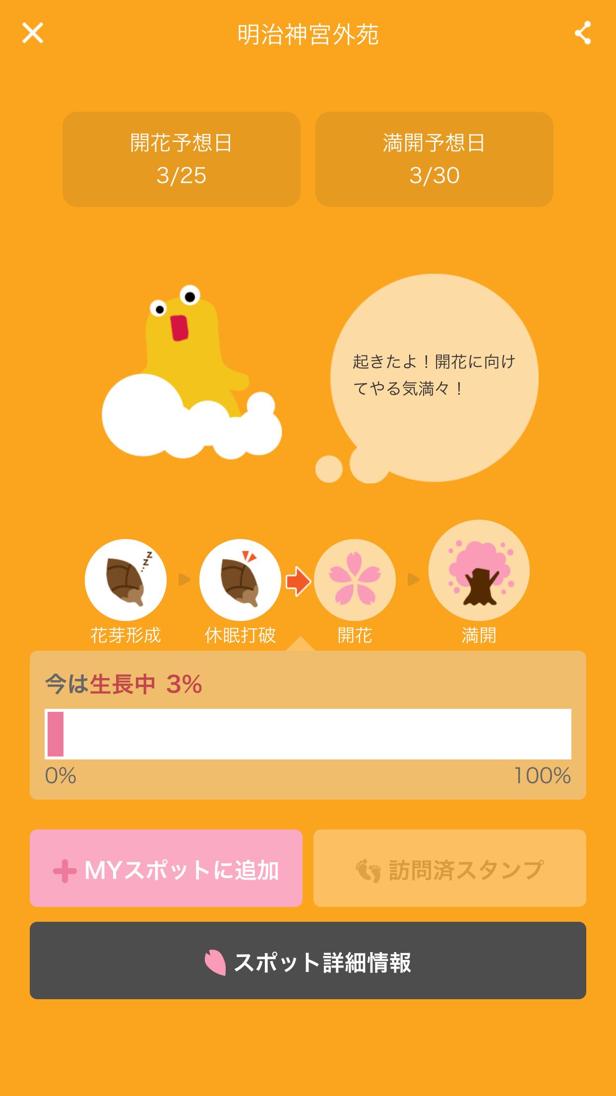 桜のきもち 桜スポット詳細
