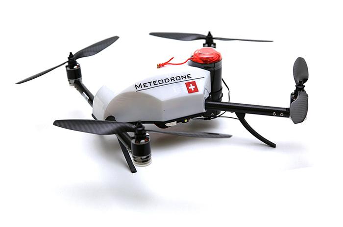 気象観測用ドローン Meteodrone